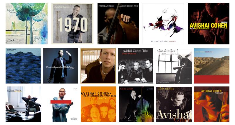 Avishai Cohen Albums